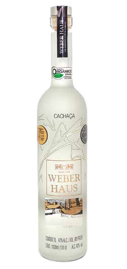 Cachaça Weber Haus Silver PREMIUM 40% - 1 Lt