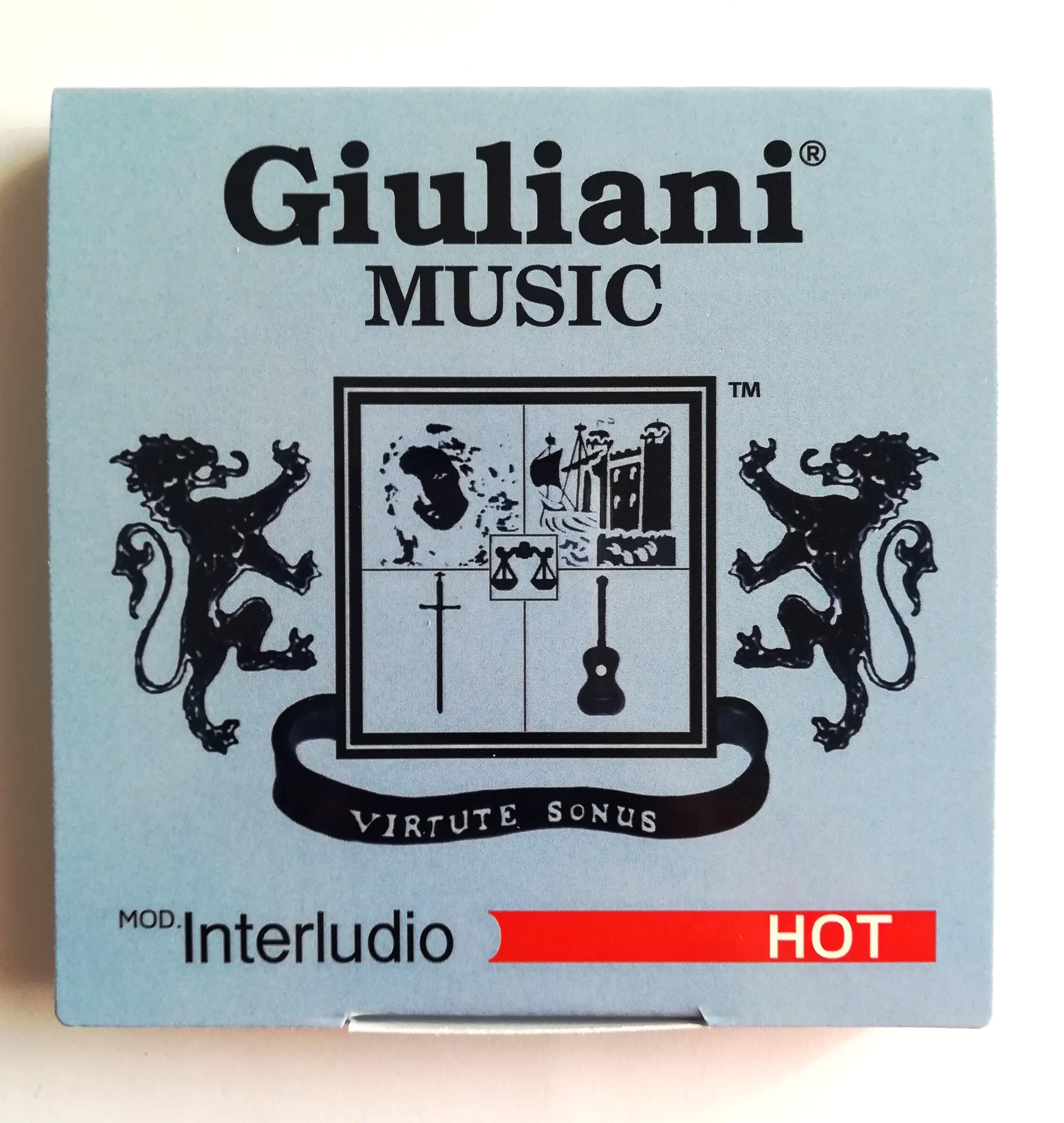 Corde per chitarra classica Giuliani INTERLUDIO Hot