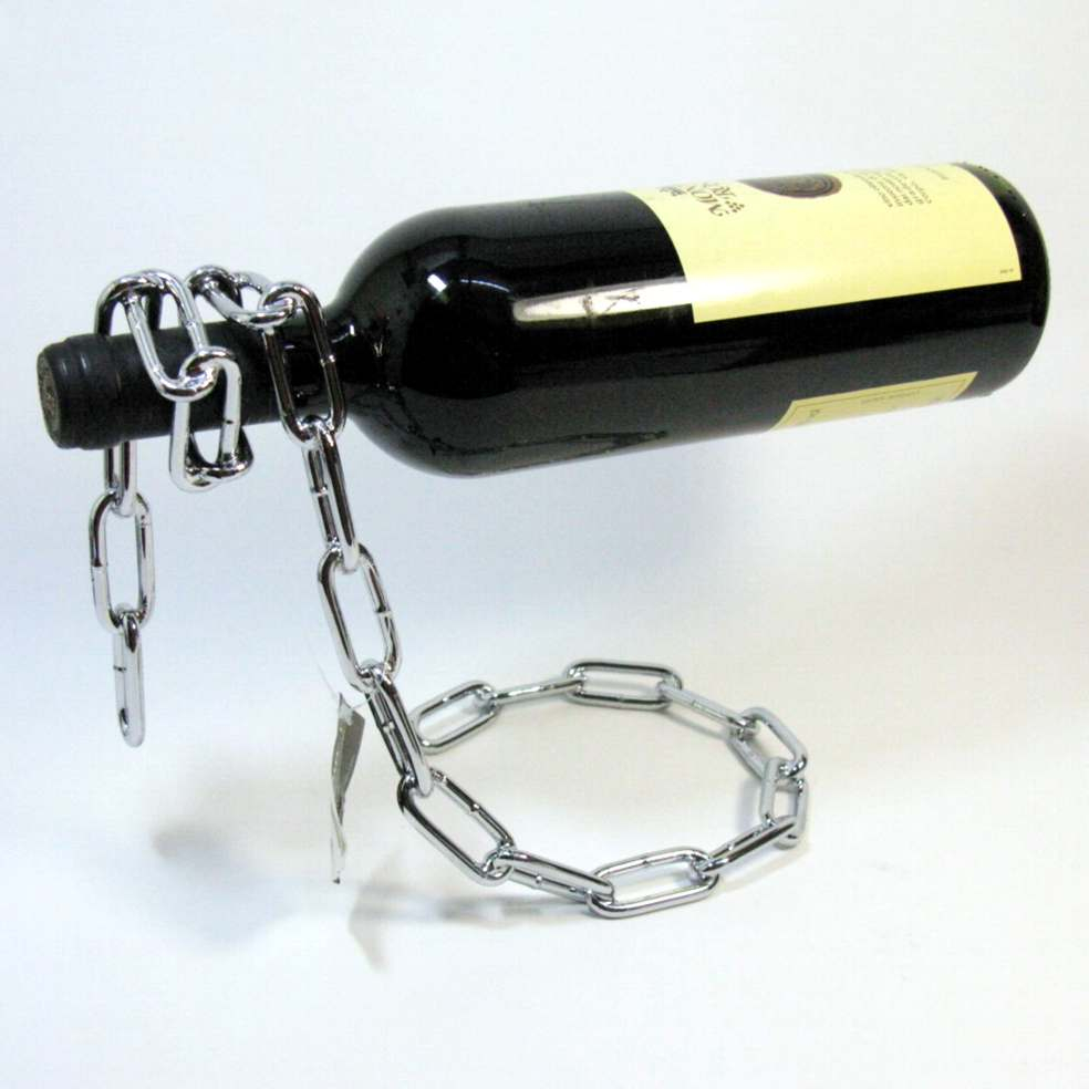 Corda reggi bottiglia con catena