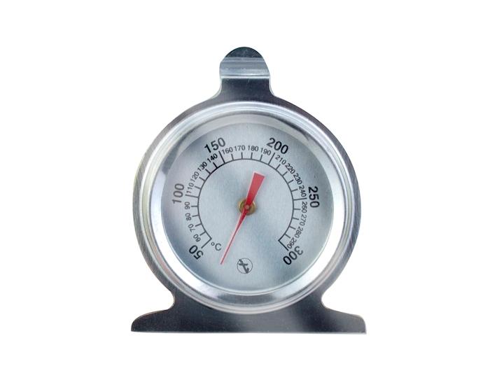 Termometro per forno in acciaio