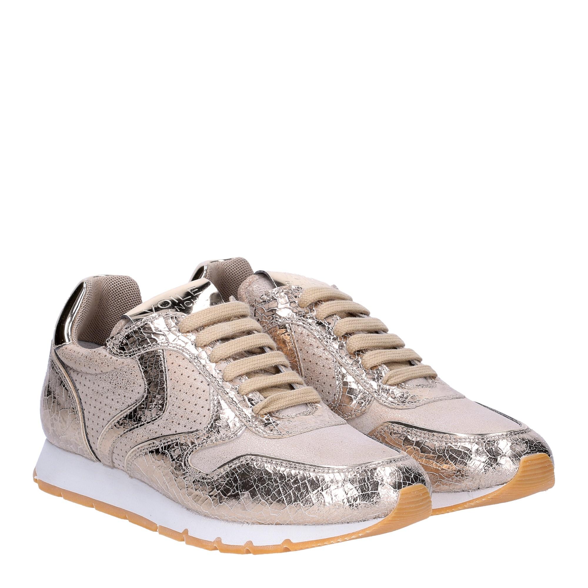 Voile Blanche Julia sneaker crack platino