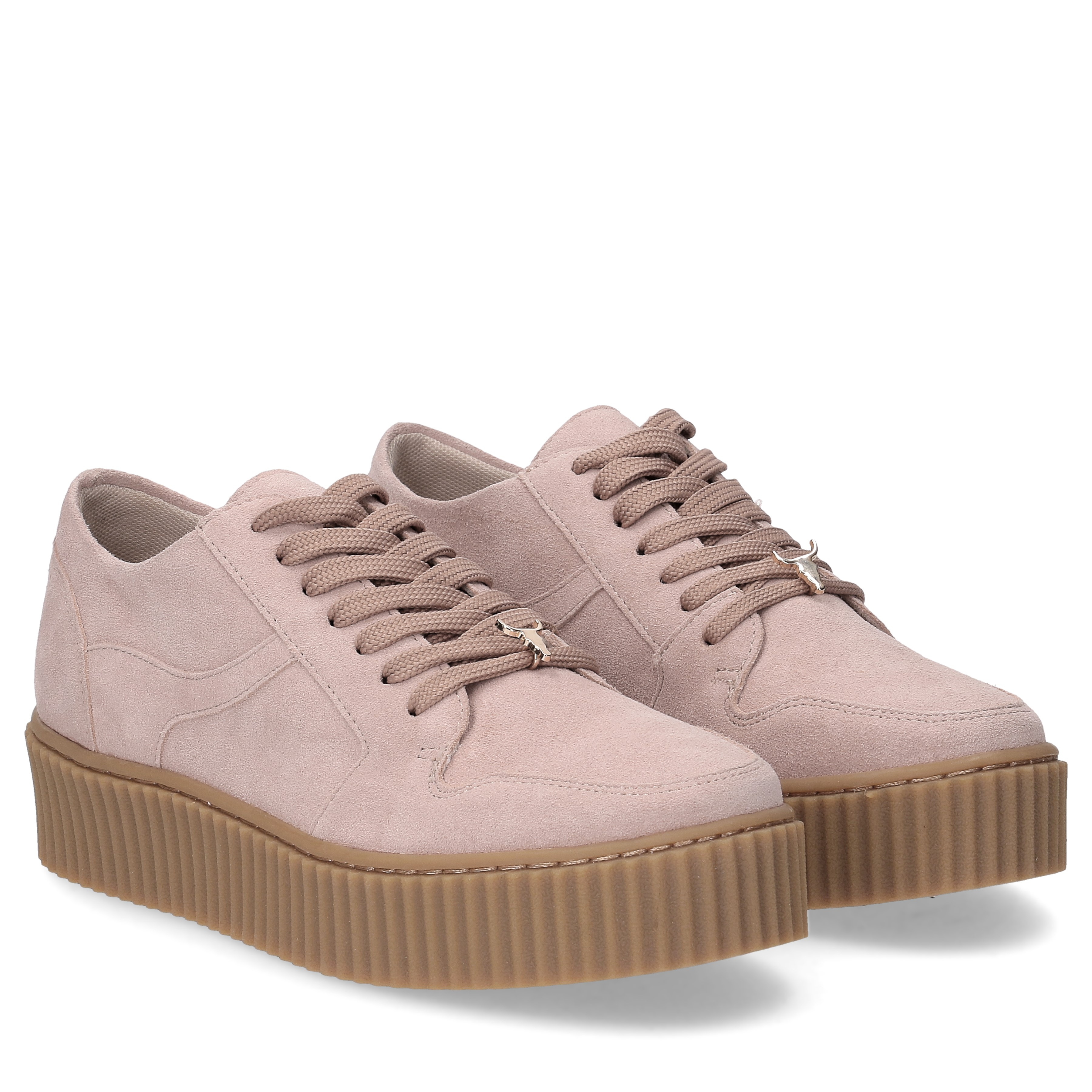 Windsor Smith Oracle dust pink suede