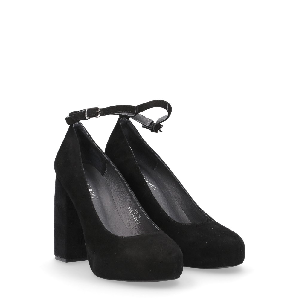 Jeffrey Campbell Phair suede black