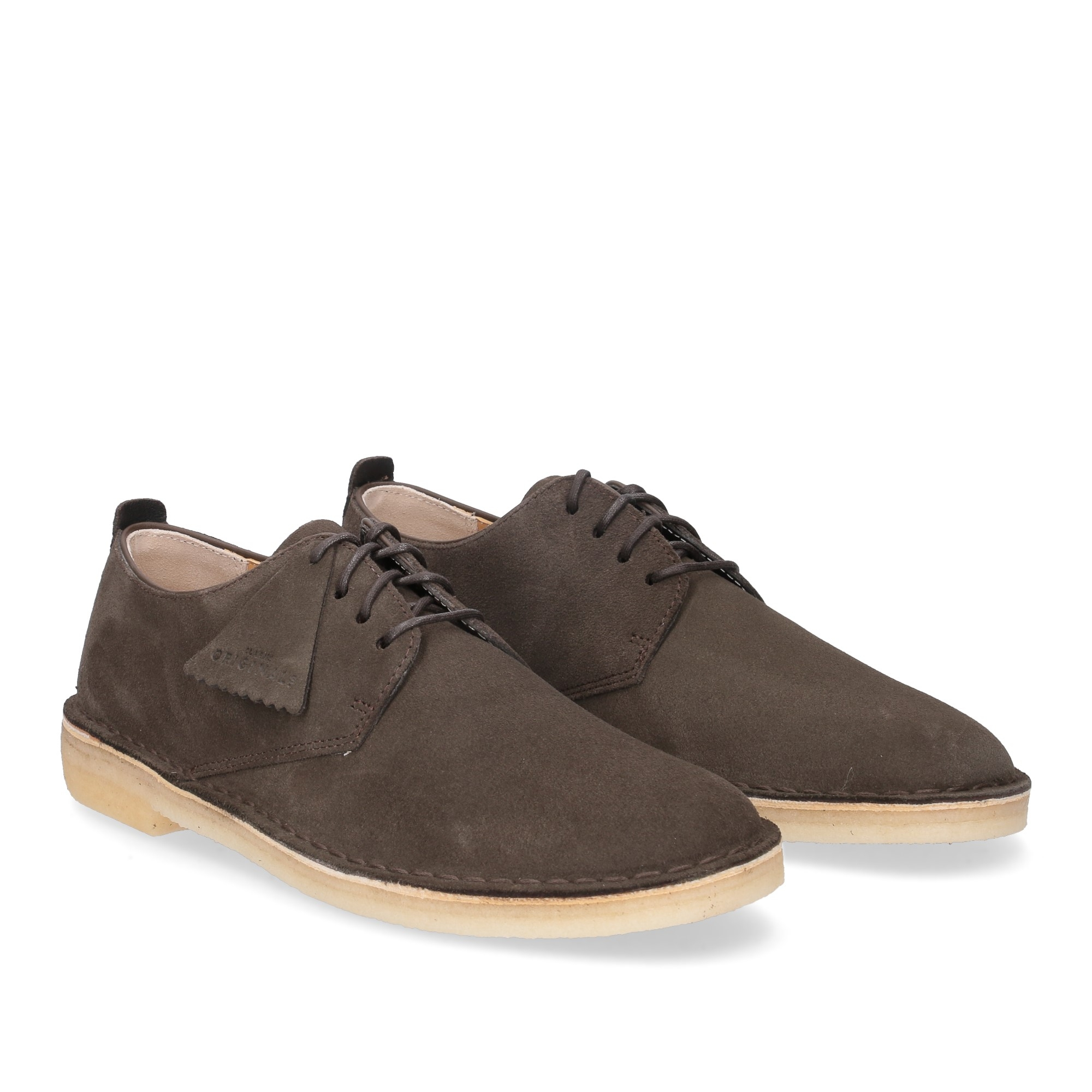 Clarks Original Desert London Peat Suede