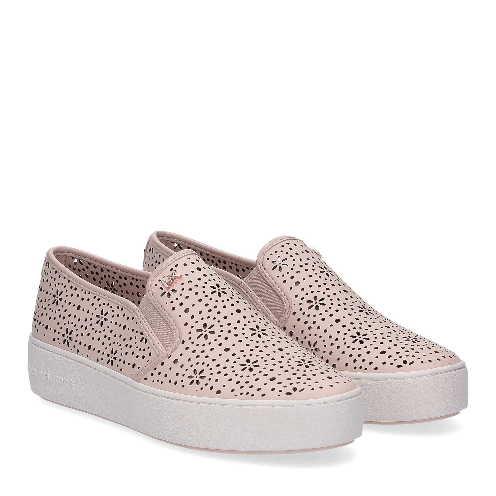 Michael Korstrent slip on nappa soft pink