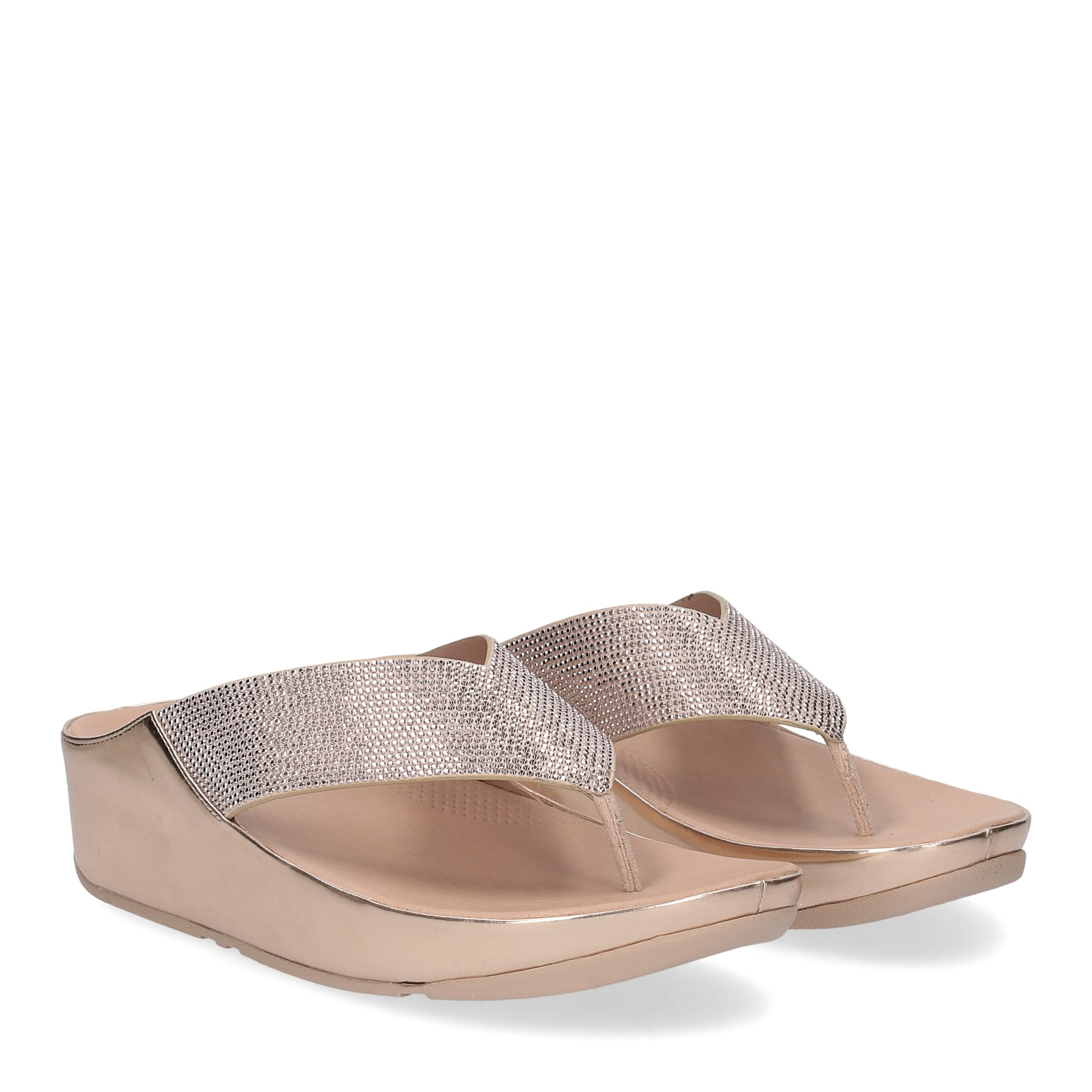Fitflop tm crystall rose gold