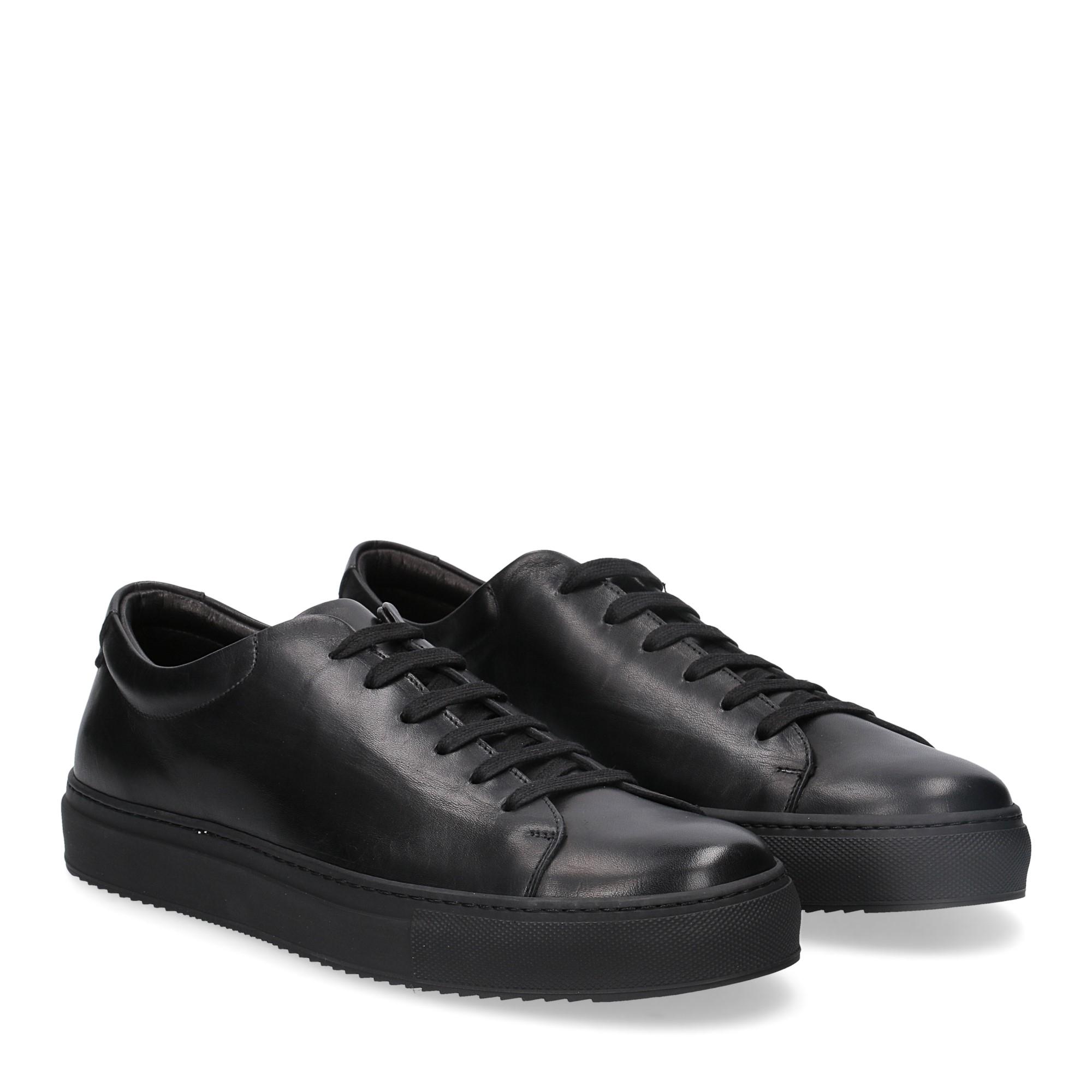 Griffi's sneaker vitello nero