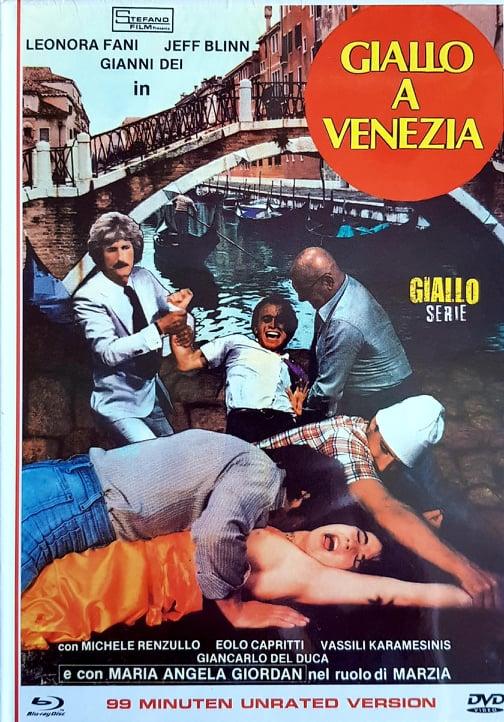 GIALLO A VENEZIA Mediabook (dvd + Blu-Ray)
