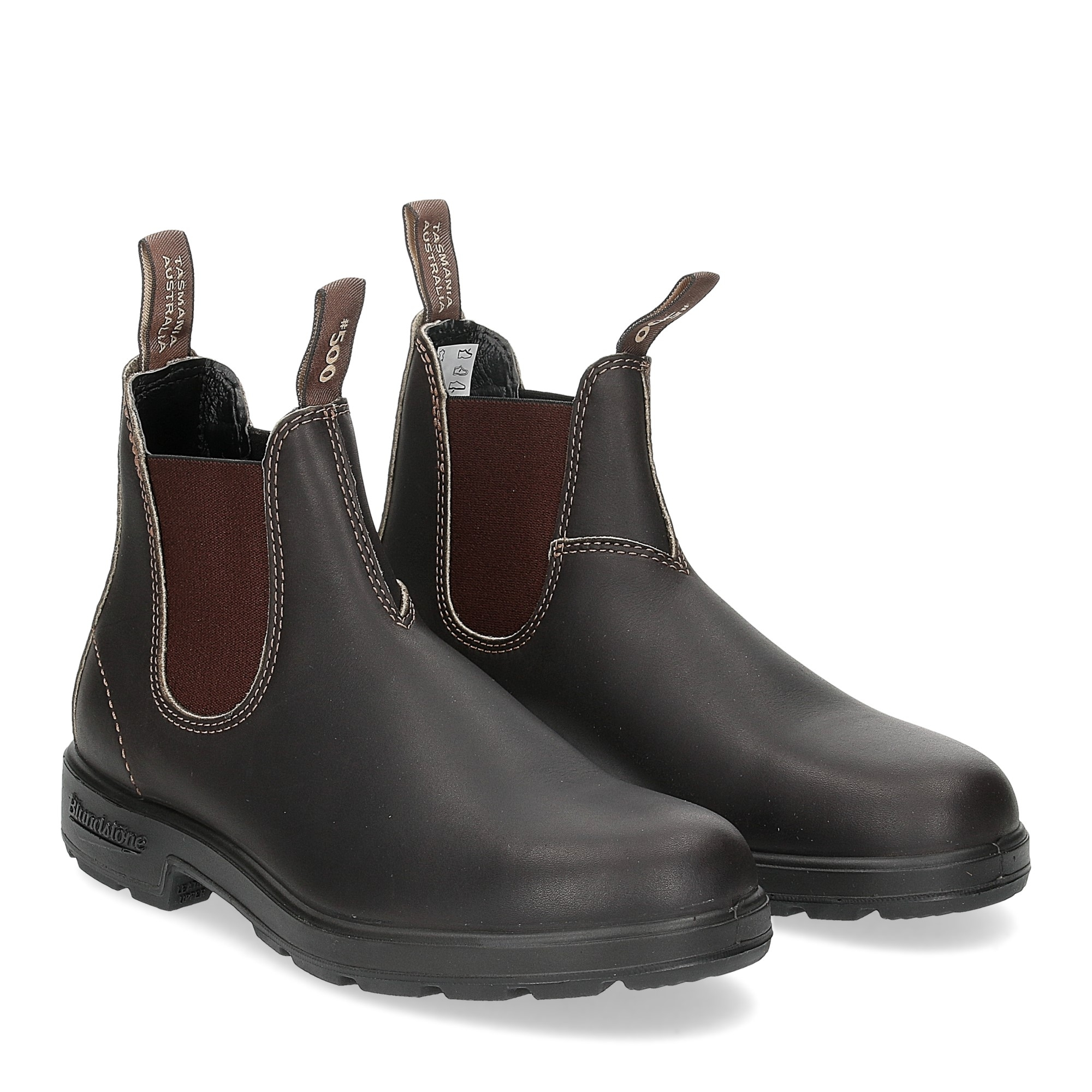 Blundstone 500 stout brown