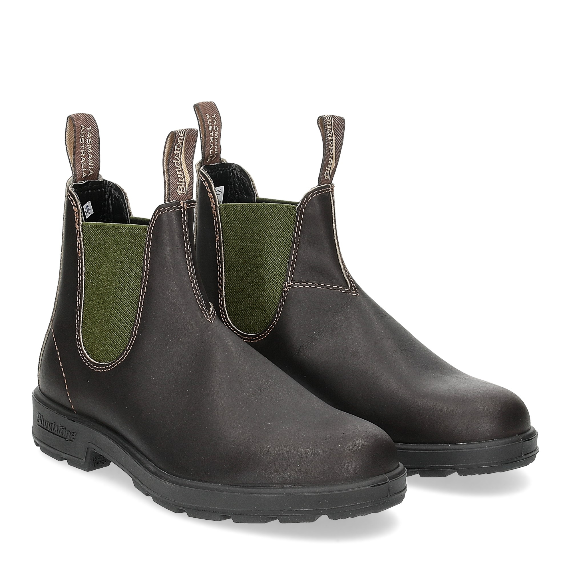 Blundstone 519 stout brown olive woman