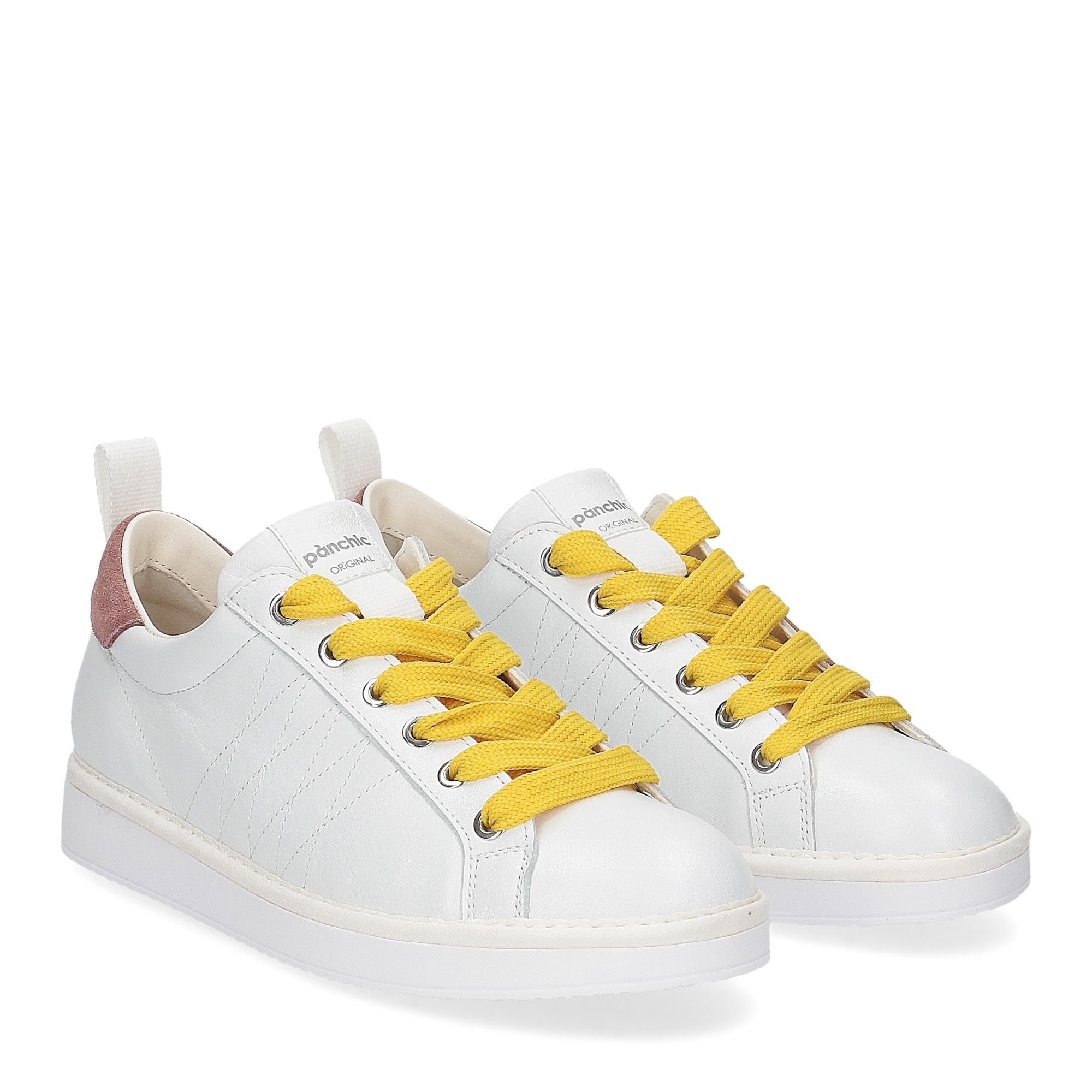 Panchic P01W leather white brownrose taxi