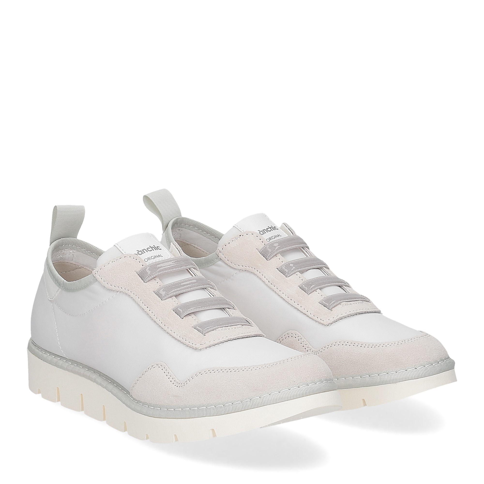 Panchic P05W nylon suede white