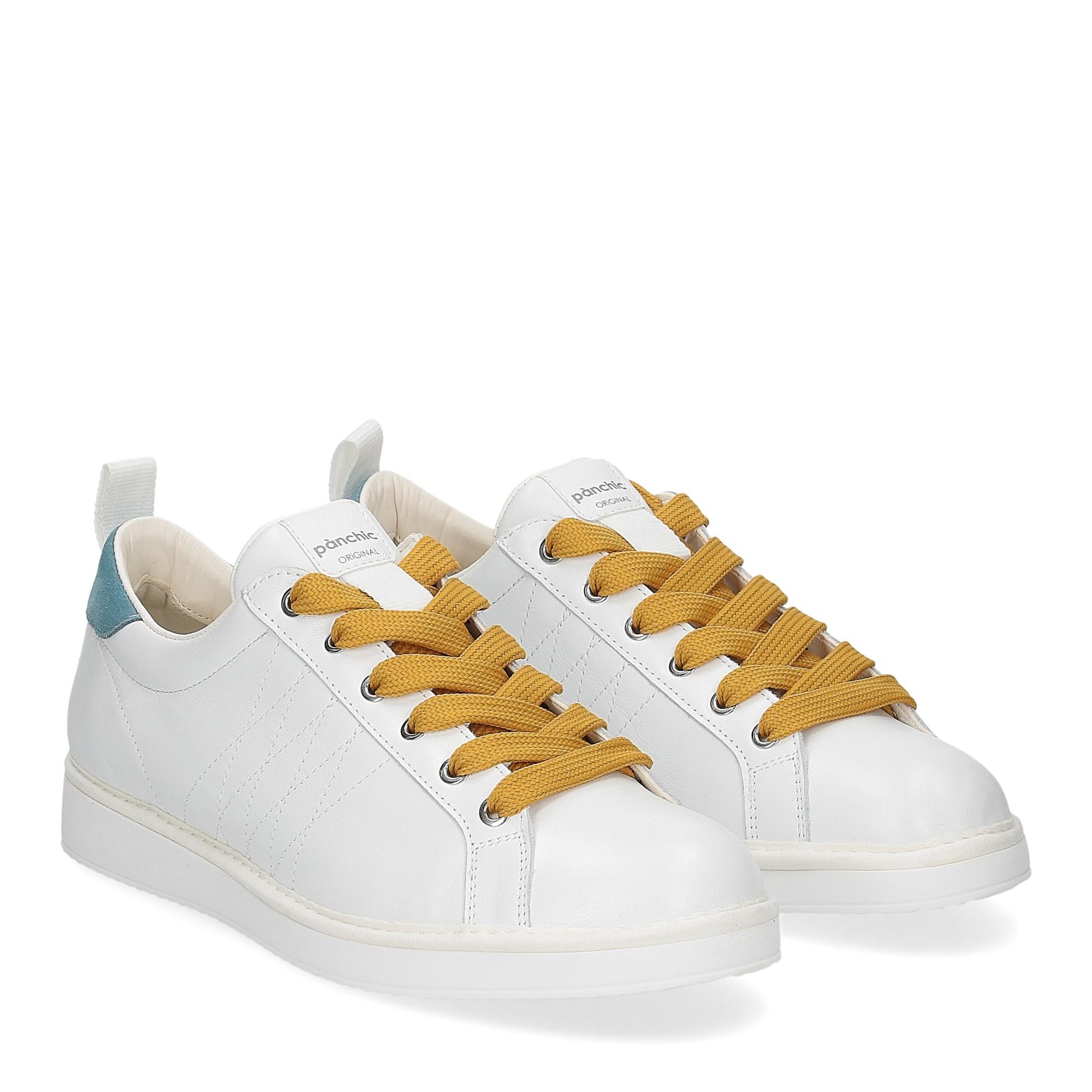 Panchic P01M leather white niagara soleil