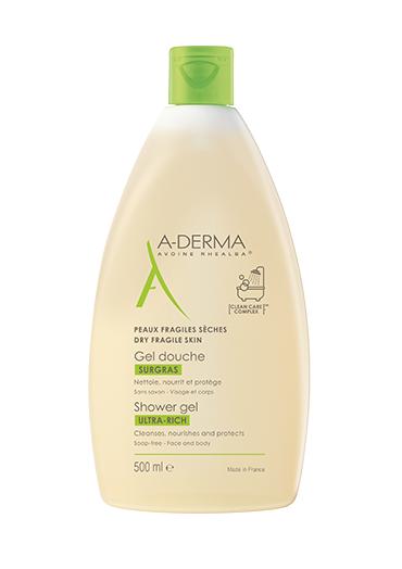 A-Derma Les Indispensables Gel Doccia 500 ml