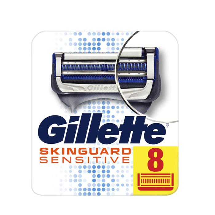 Gillette Skinguard Sensitive razor refill blister 8 units