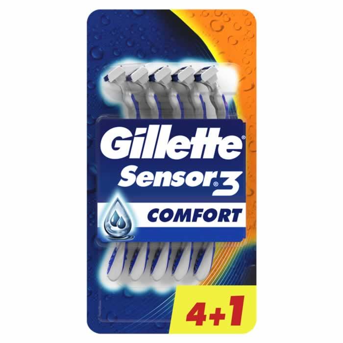Gillette Sensor3 5 Units