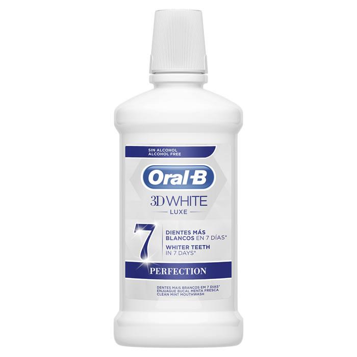 Oral-B Colutorio 3D White Luxe Perfection 500ml
