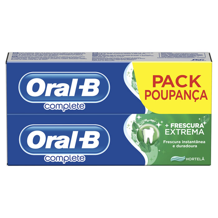 Oral-B Complete Paste Ultimate Fresh 2x75ml