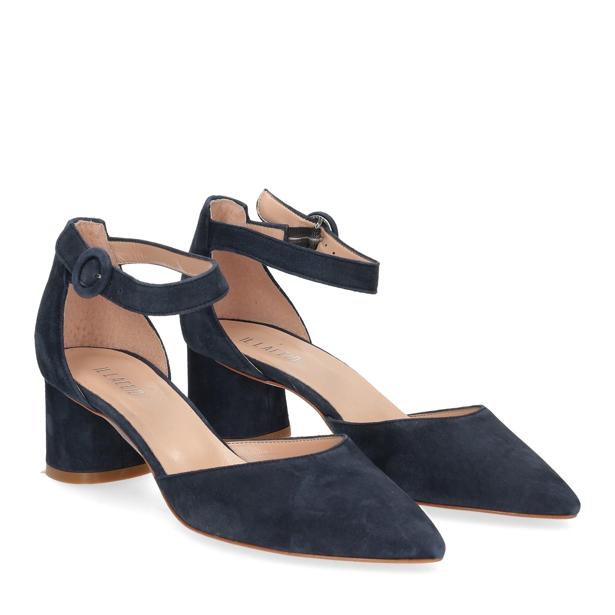 Il Laccio sandaliera blu