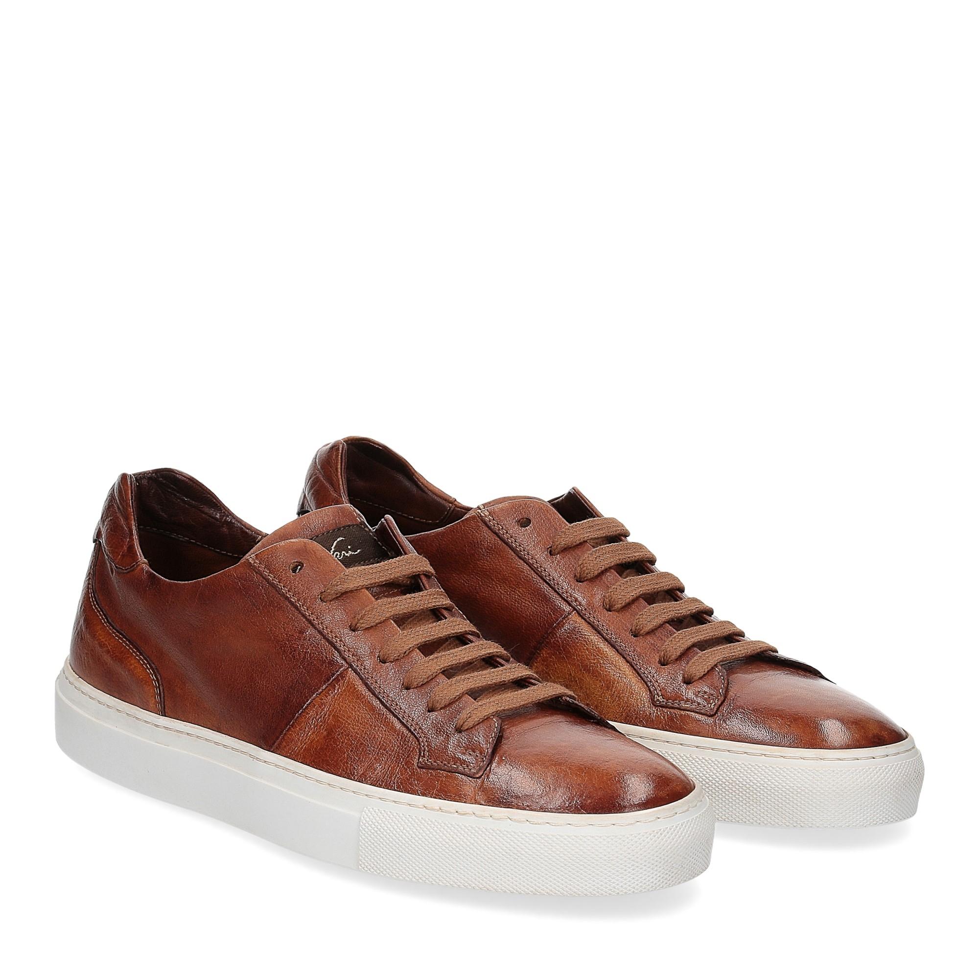Corvari Sneaker honey cognac
