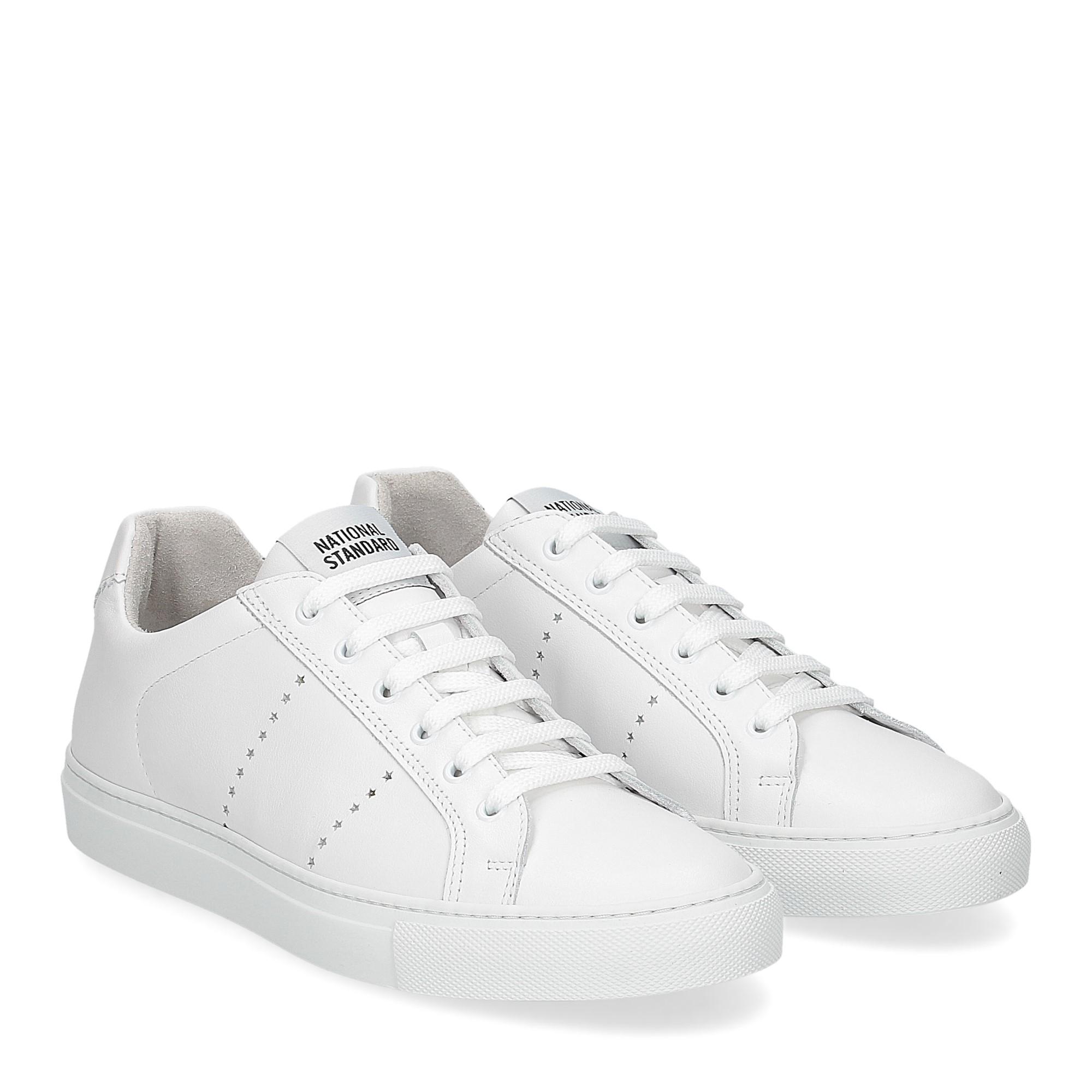 National Standard Sneaker white monochrom
