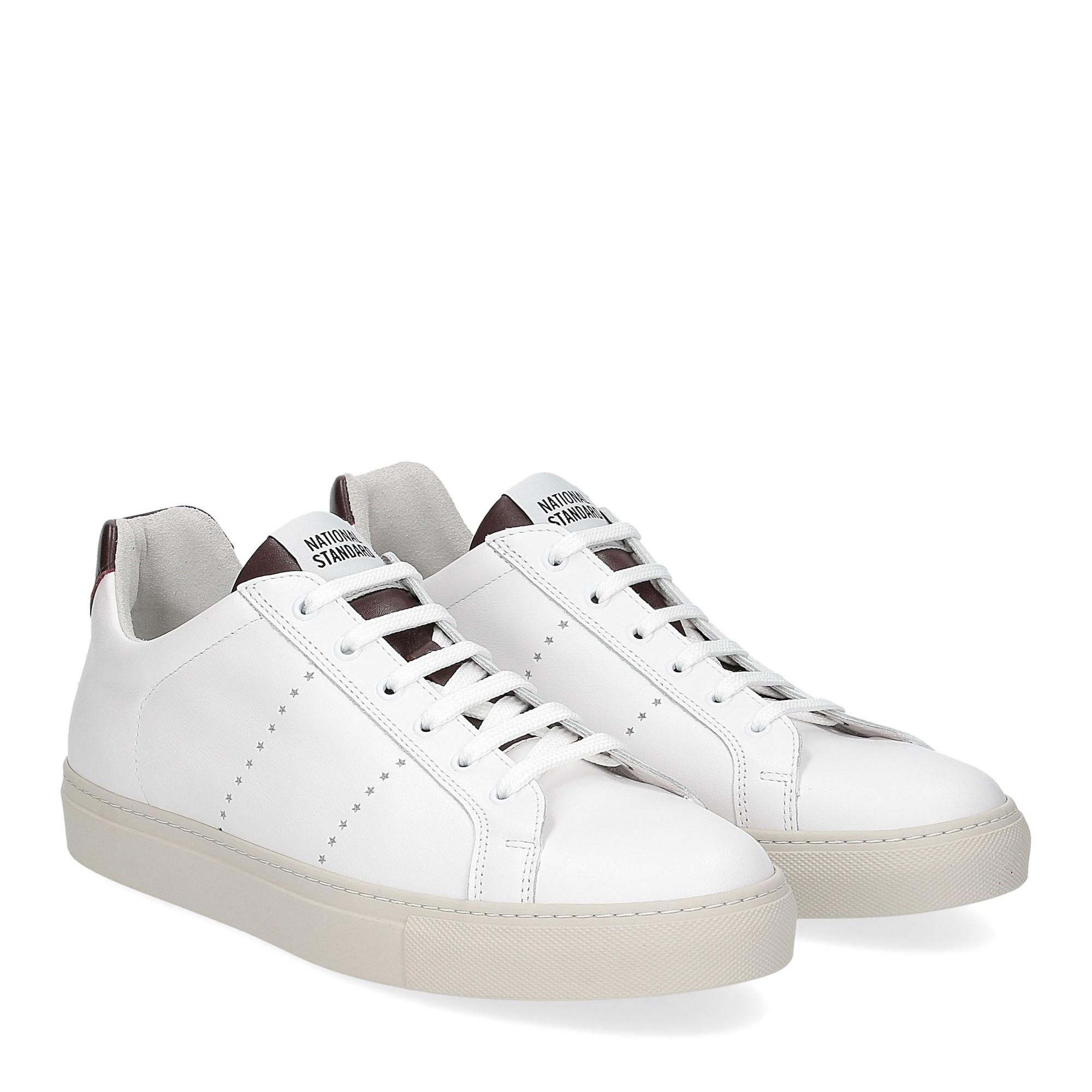 National Standard Sneaker white whine