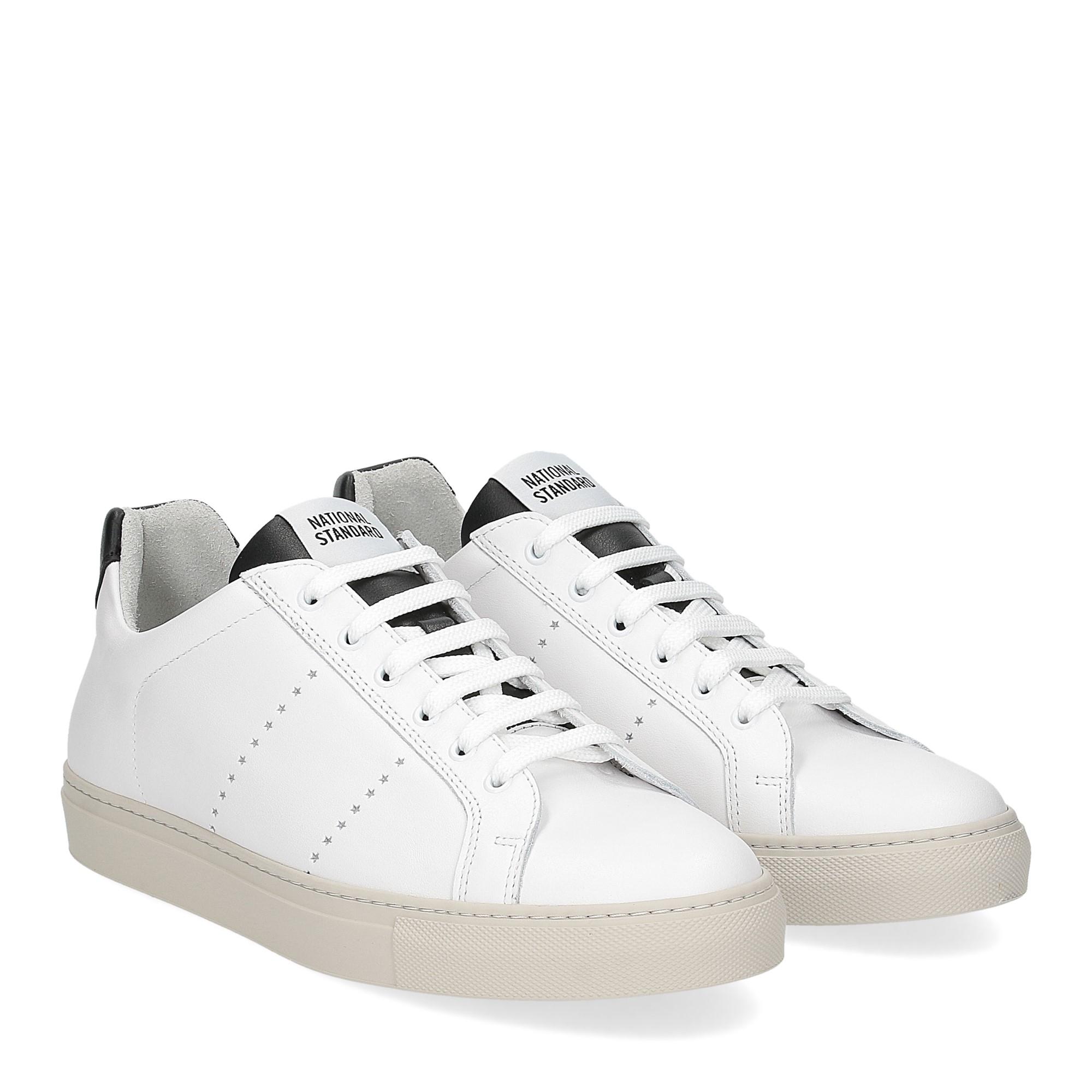 National Standard Sneaker white black