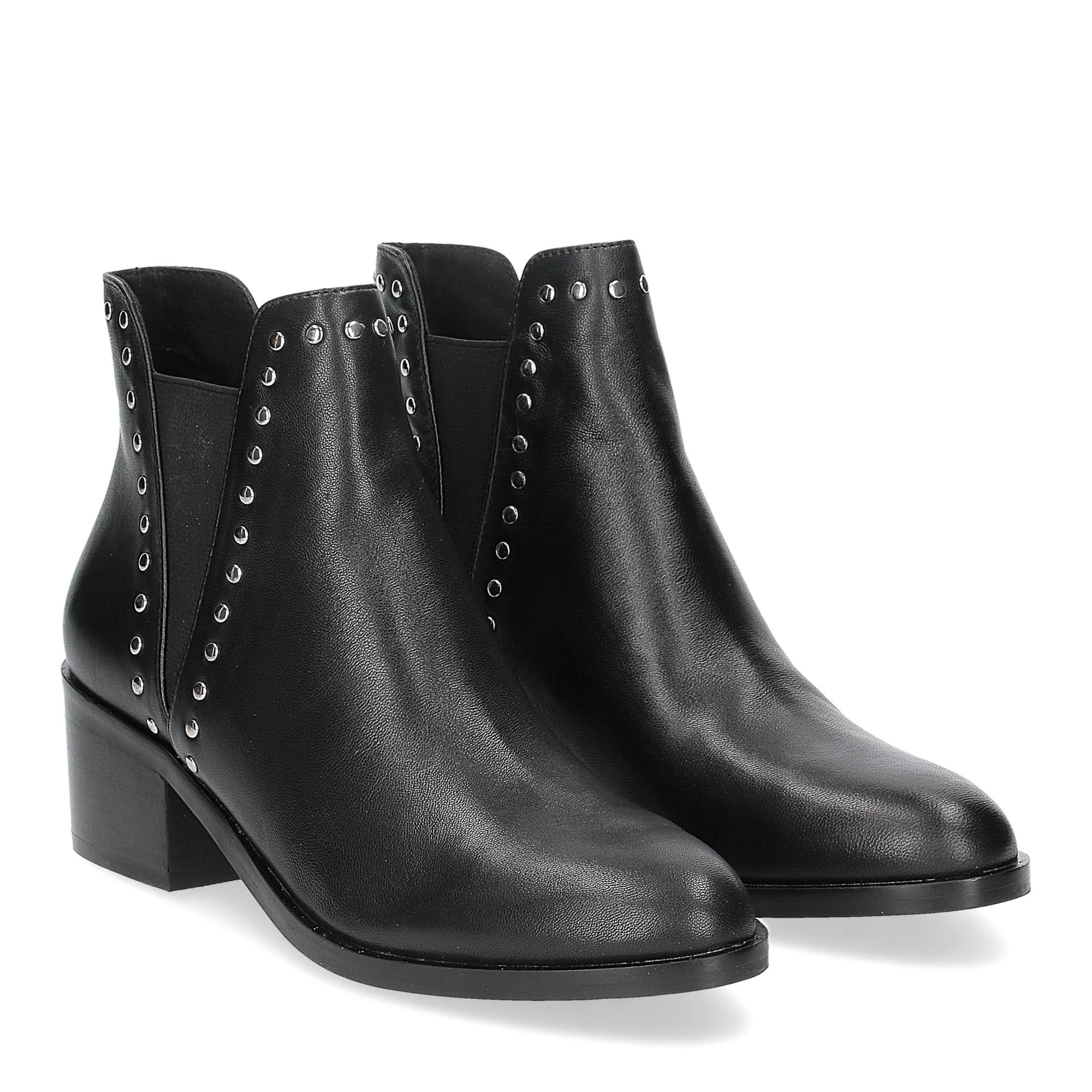 Steve Madden Cade black leather