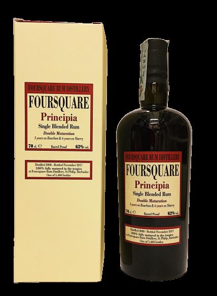Foursquare Principia Single Blended Rum -Foursquare Dist. - Barbados