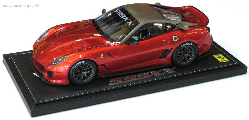 Ferrari 599 XX Race Version Red F1 2007 Matt Grey Roof Ltd 359 Pieces 1/18