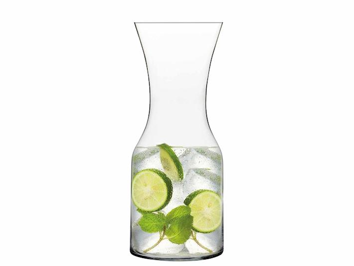 Caraffa cilindrica in vetro Lilium 0,9 litri