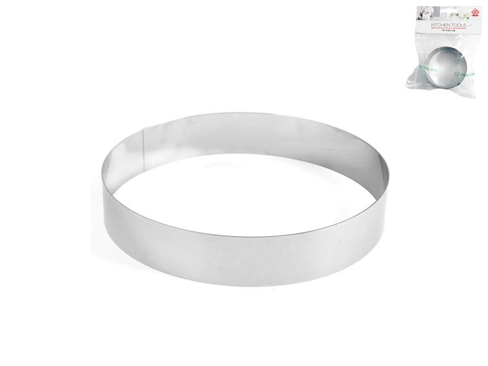 Coppapasta in acciaio cm10 alto 4cm