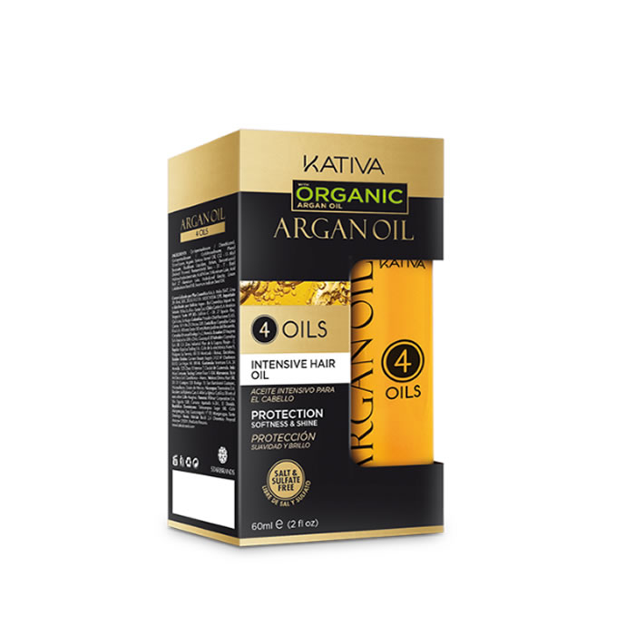 Kativa Argan Oil 4 Oils Intense Hair Oil 60ml