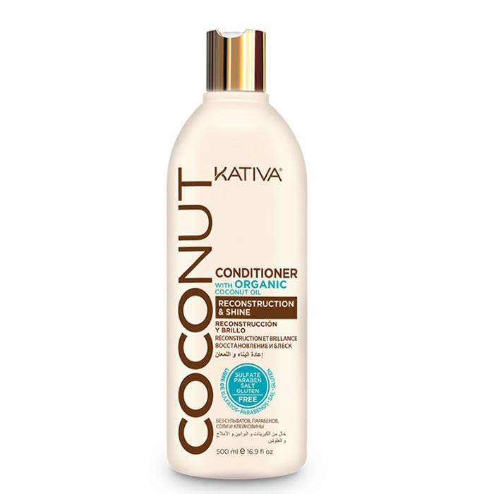 Kativa Coconut Conditioner Reconstruction & Shine 500ml