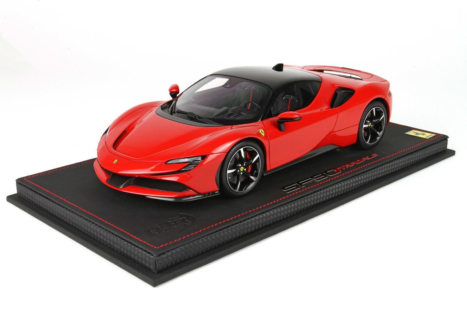 Ferrari SF90 Stradale Rosso Corsa 322 1/18