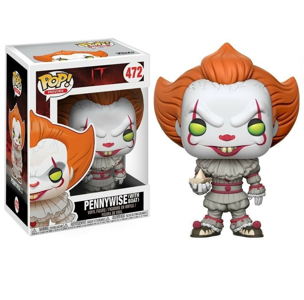 Funko Pop 472: PENNYWISE (with Boat) IT