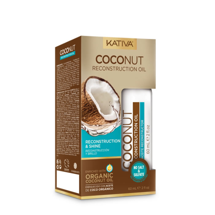 Kativa Coconut Reconstruction Oil 60ml