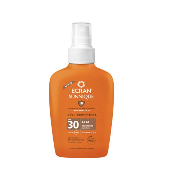 Ecran Sunnique Protective Milk Spf 30 Spray 100ml