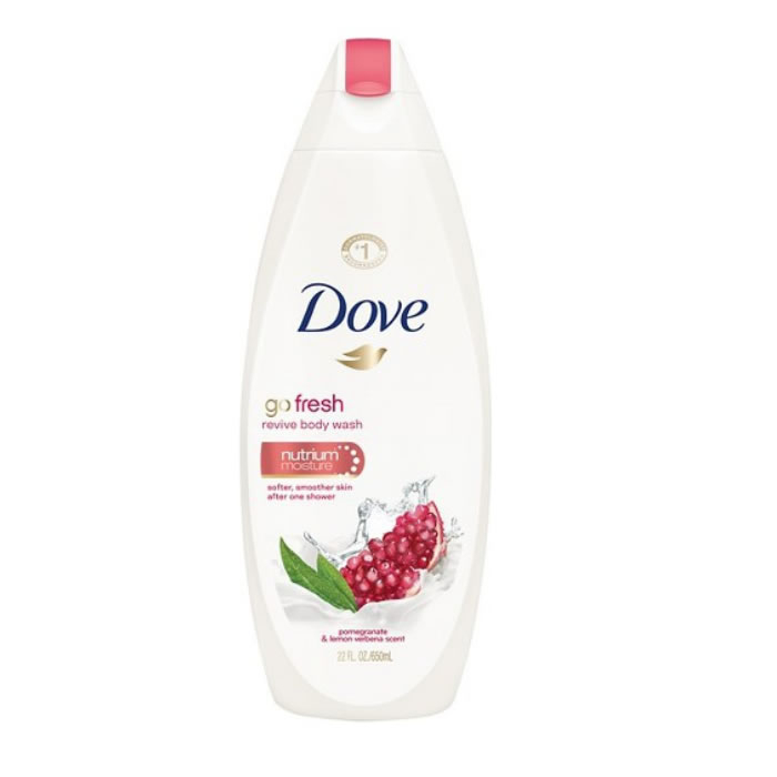 Dove Go Fresh Pomegranate And Lemon Gel Doccia 750ml