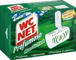 WC NET TAVOLETTA IGIENIZZANTE PROFUMATA