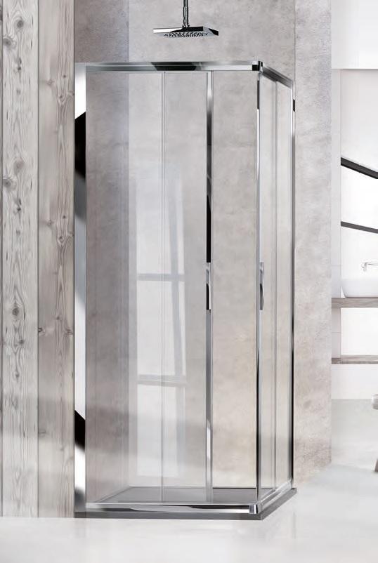 Box doccia angolare scorrevole 100 x 70