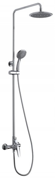 Colonna doccia con soffione, doccino e miscelatore Magic Touch