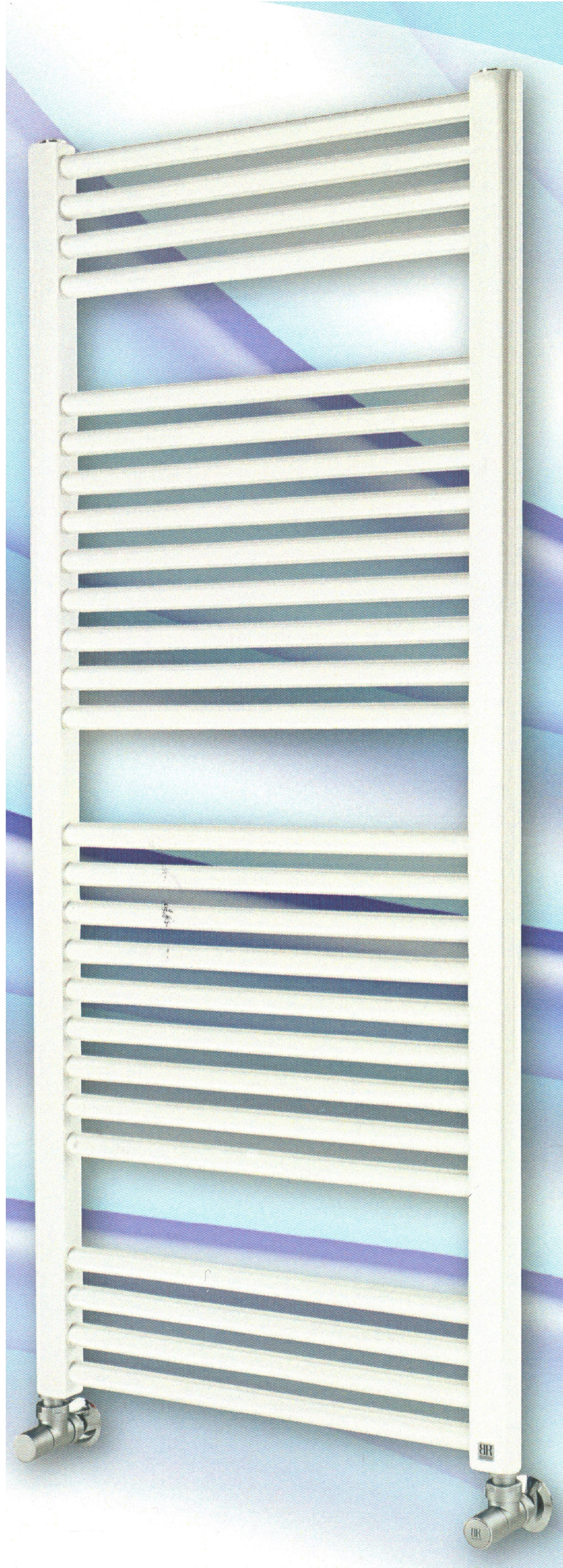 Radiatore scaldasalviette bianco 500x1150