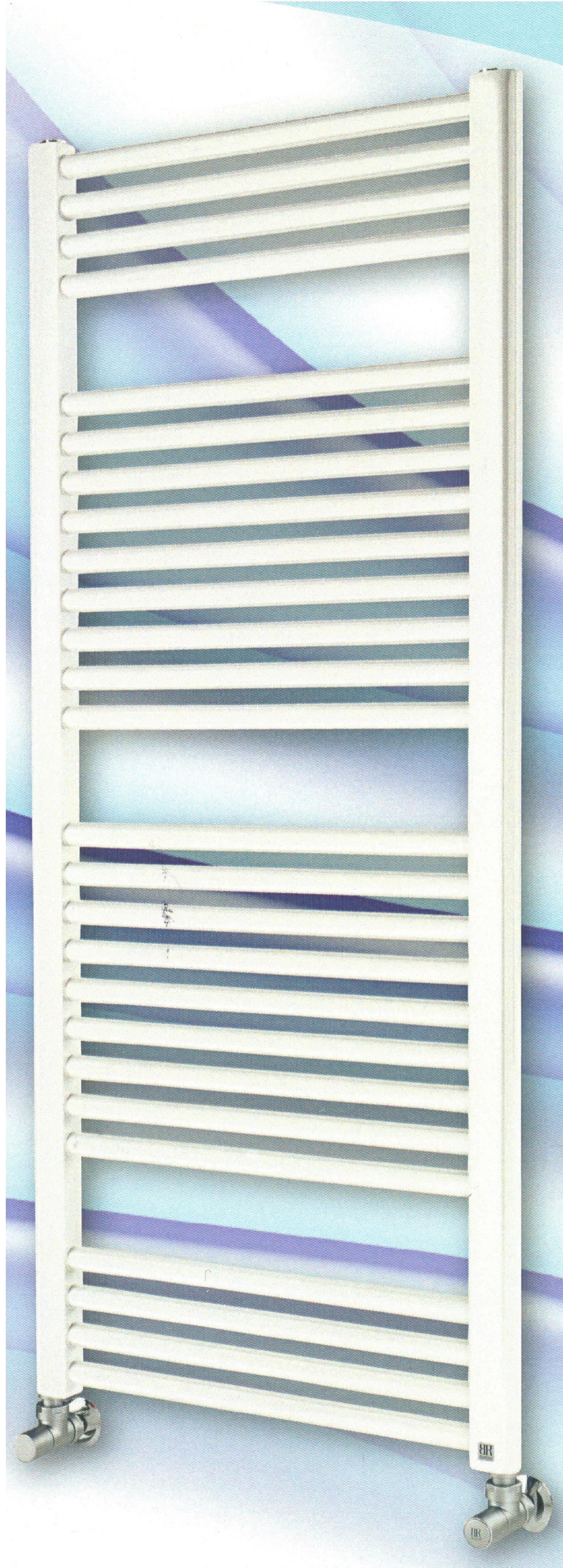 Radiatore scaldasalviette bianco 550x750