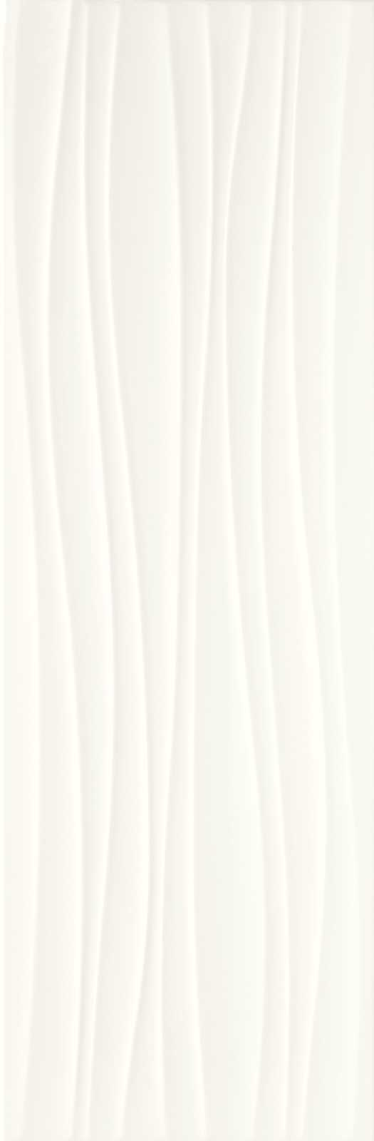 ABSOLUTE WHITE STRUTTURA TWIST 3D SATINATO 250X760  - (Euro/Mq 25,62)