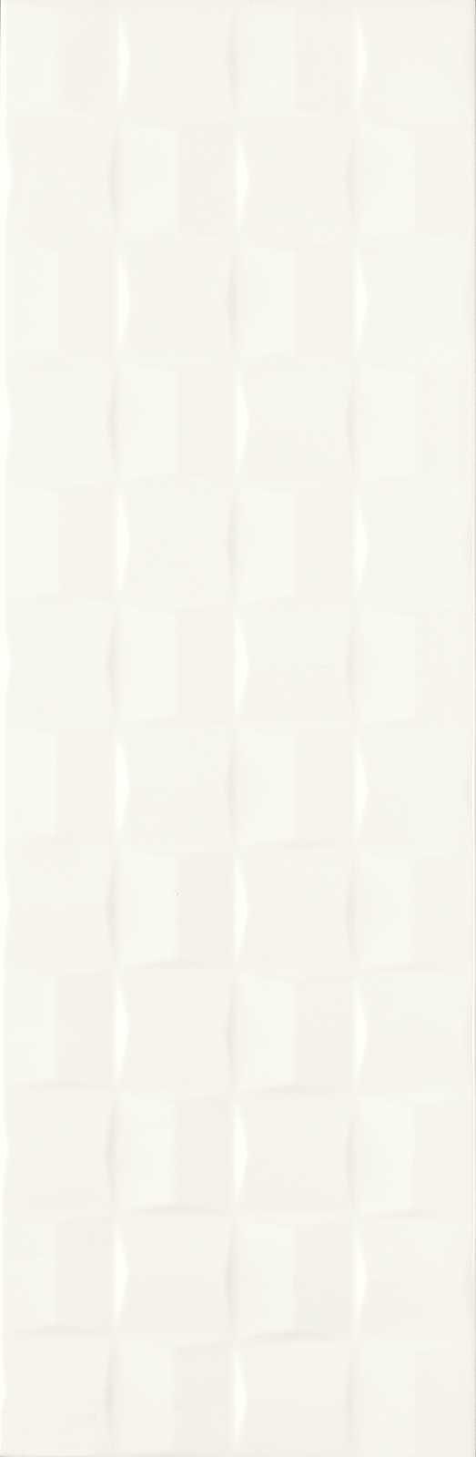 ABSOLUTE WHITE STRUTTURA CUBE 3D SATINATO 250X760  - (Euro/Mq 25,62)
