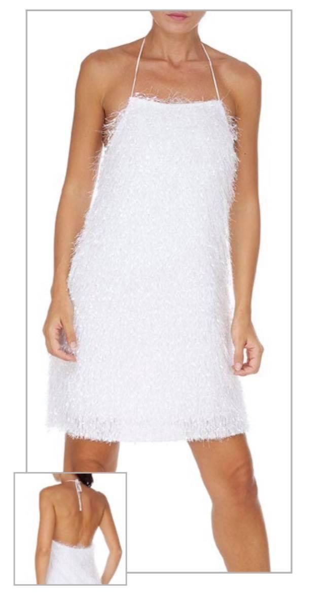 Mini Dress F**K F20-0367WH
