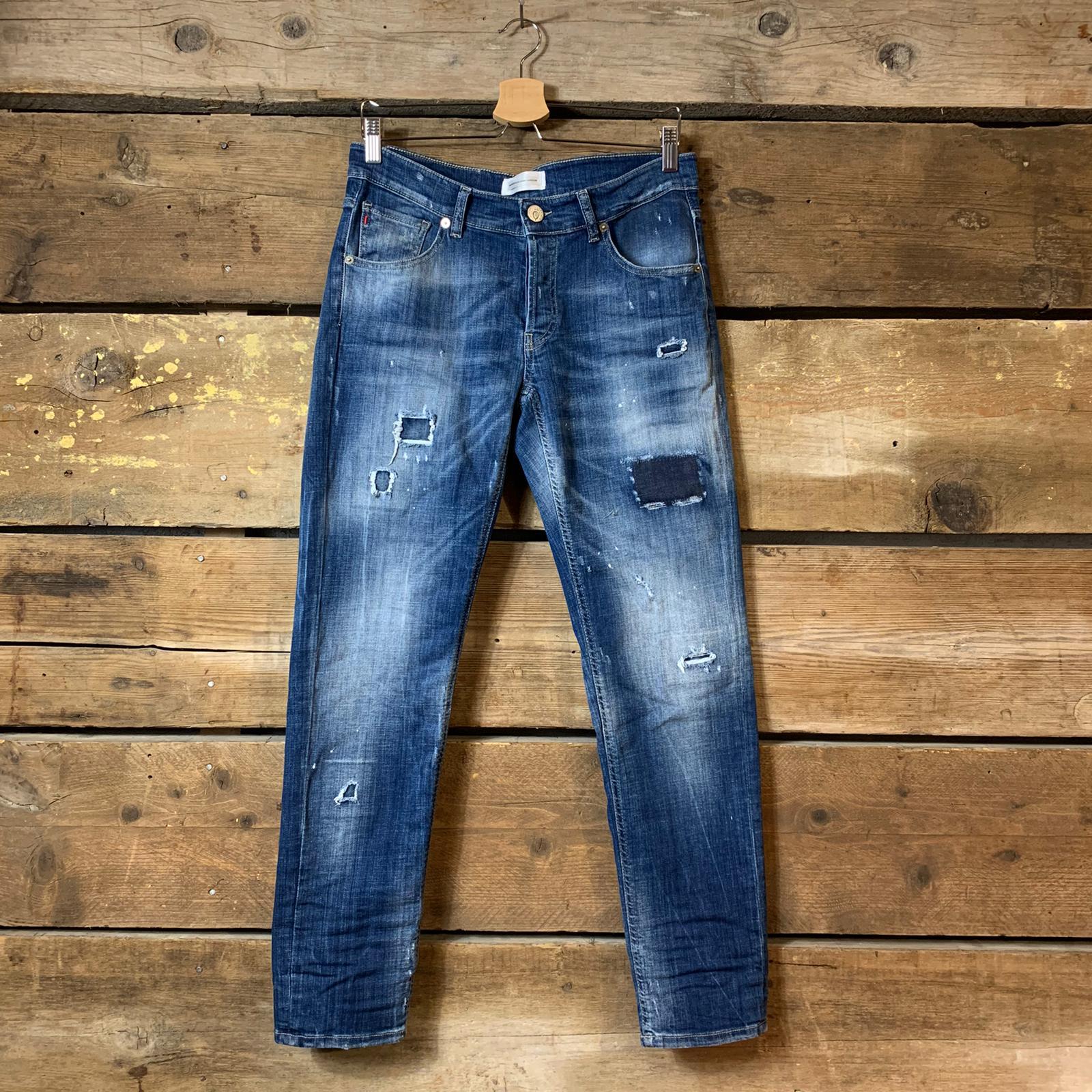 Jeans P.M.D.S. Paul L30 Blu Scuro