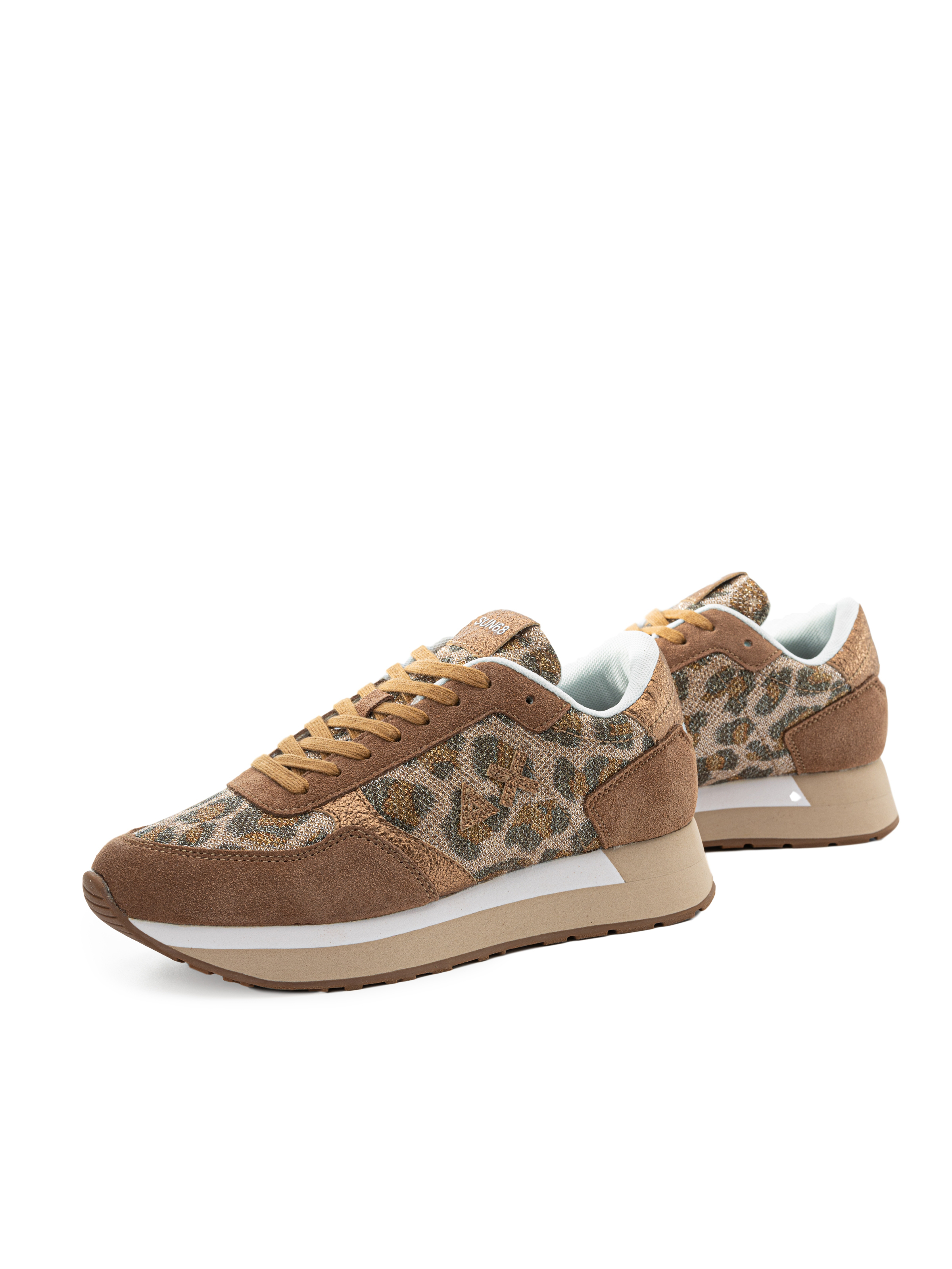 Sneakers Sun 68 Z30218 Beige