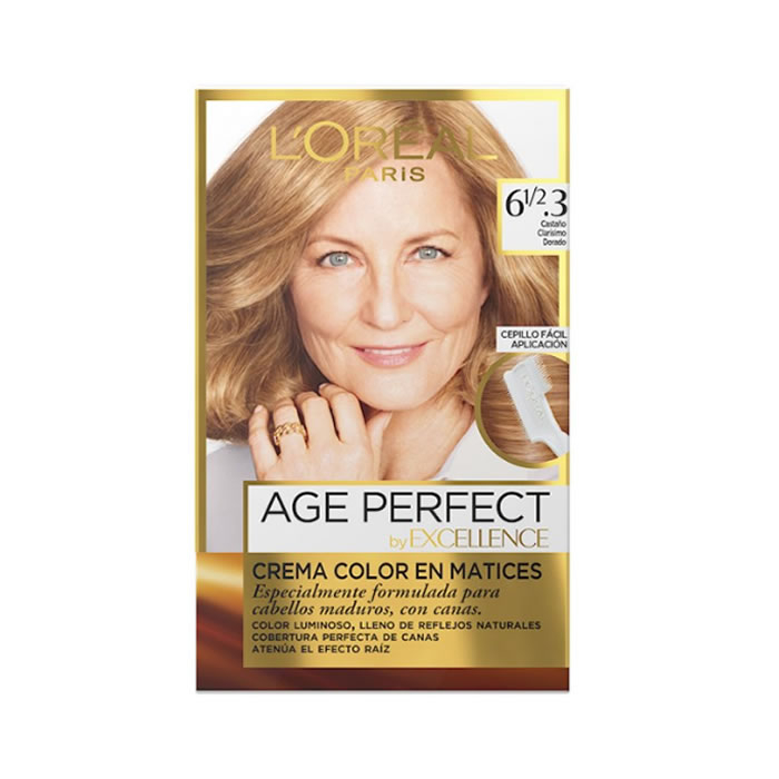 Loreal Excellence Age Perfect 61 2.3 Light Golden Chestnut